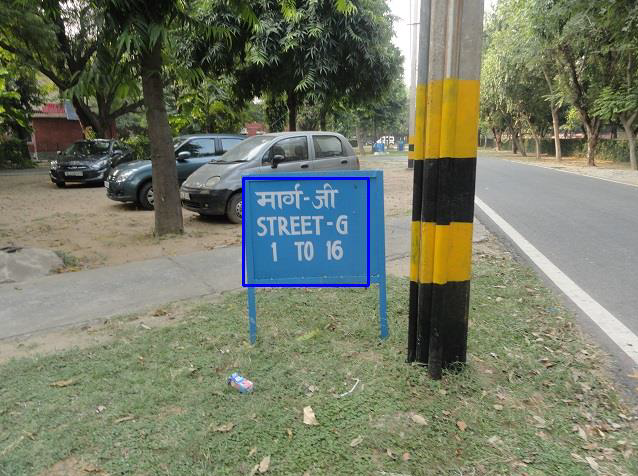 Signboard Detection