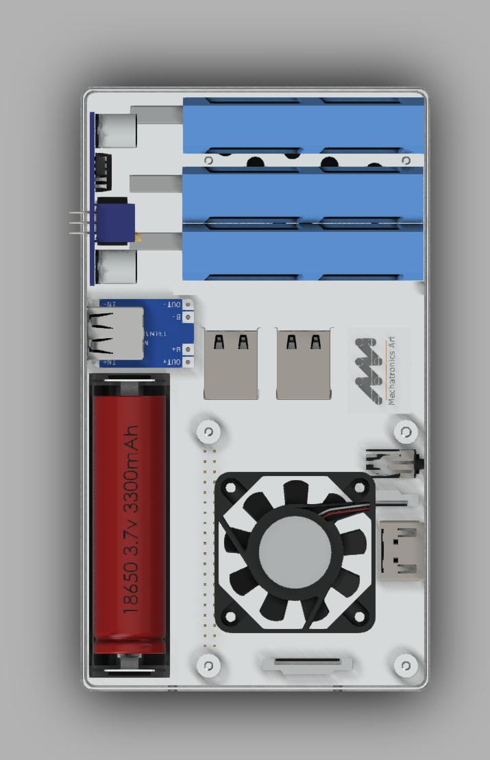 A recent prototype fabricated for MAVI.