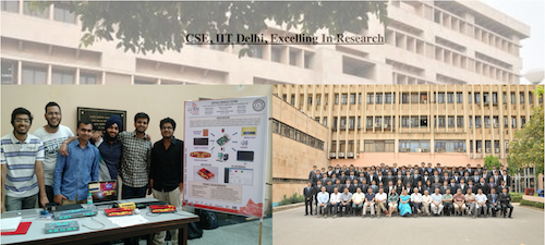 Department of Computer Science and Engineering, IIT Delhi